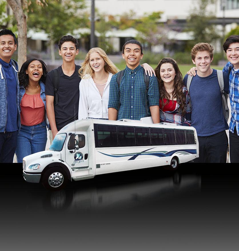 Denver School Group Shuttle Coach Services